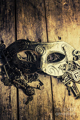 Life Mask Art Prints
