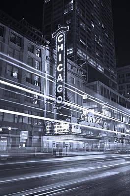 Chicago Black White Original Artwork