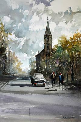 Church Impressionism Art