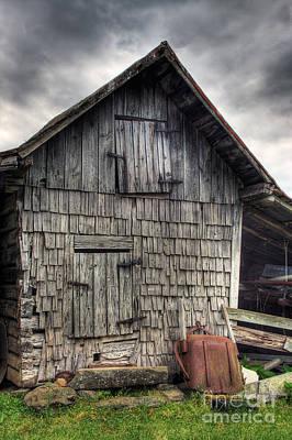 Old Barn Original Artwork
