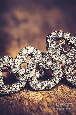 Designs Similar to Crystal Heart Earrings