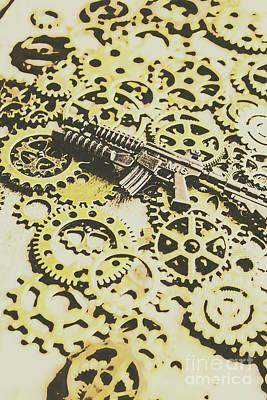 Antique Firearms Art