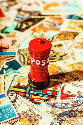 Mail Boxes Art Prints
