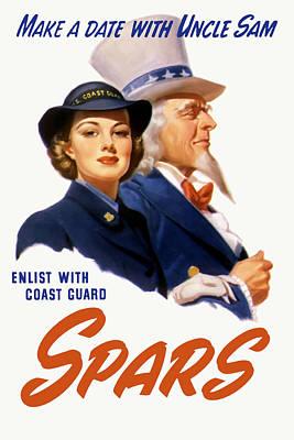 Coast Guard Mixed Media