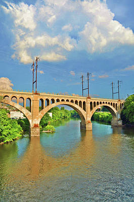 Designs Similar to Manayunk Bridge by Bill Cannon
