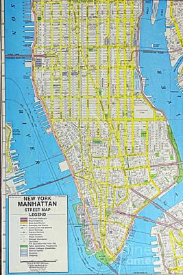 Designs Similar to Map Lower Manhattan Nyc