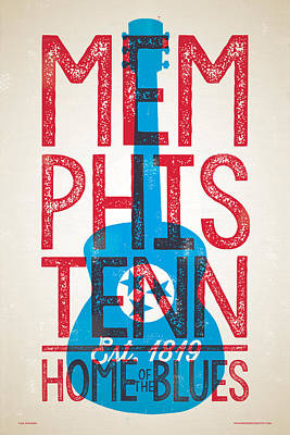 Designs Similar to Memphis Poster - Tennessee
