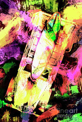Oil Paint Photographs