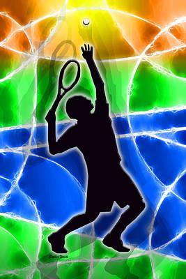 Volley Digital Art Prints