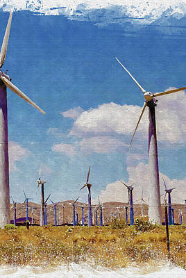 Wind Power Prints
