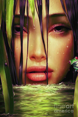 Designs Similar to Woman In The Lake  by Gull G