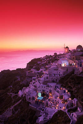 Designs Similar to Santorini At Night, Greece 2