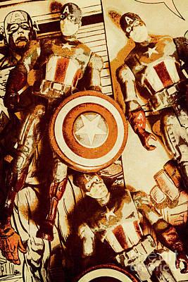 Comic Book Photographs