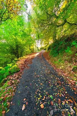 Designs Similar to Country Lane Autumn