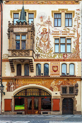 Designs Similar to Decorated Prague Facade