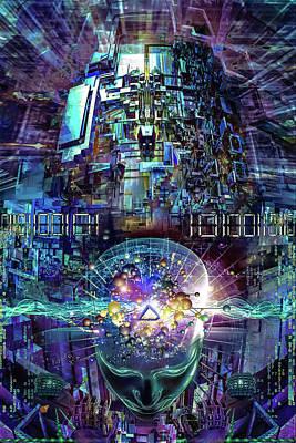 Aerosol Digital Art Original Artwork