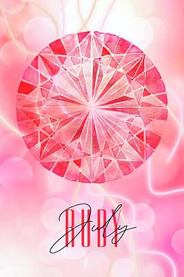 Designs Similar to July Birthstone - Ruby