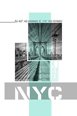 Designs Similar to Poster Art Nyc Brooklyn Bridge