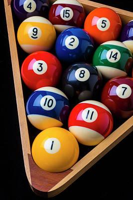 Designs Similar to Racked Billiard Balls