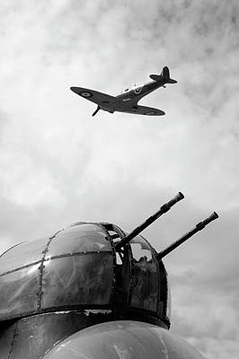 Designs Similar to Spitfire And Lancaster Aircraft