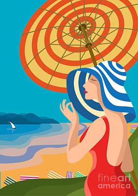 Riviera Beach Digital Art