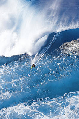 Big Wave Surfing Photographs