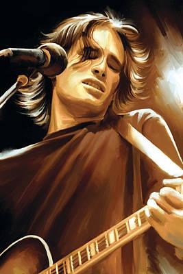 Jeff Buckley Paintings