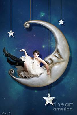 Moon Digital Art
