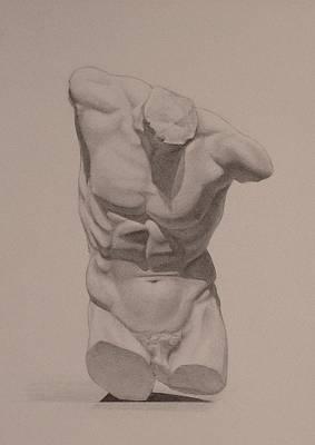 Drawing - Torso by Andrew Sandberg