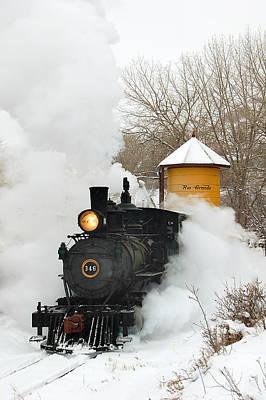 Colorado Railroad Museum Art