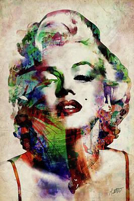 Marilyn Monroe Actress Art Prints