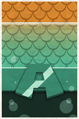 Aquaman Digital Art