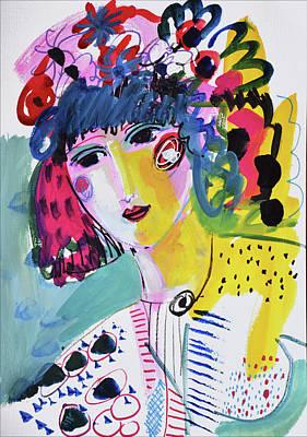 Painting - Boho party by Amara Dacer