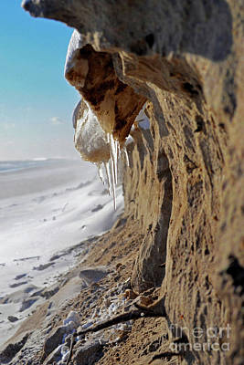 Photograph - Cold Beach by Russ LaScala