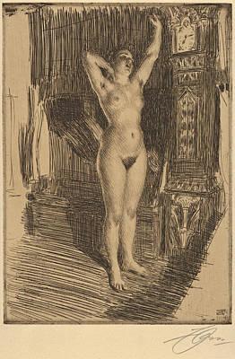 Anders Zorn Drawings