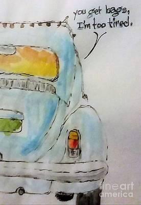 Leon Hollins Drawings