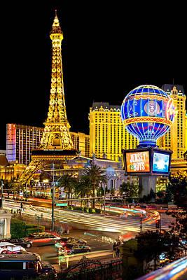 Las Vegas Lights Photographs