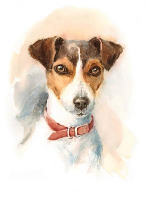 Recently Sold -  - Watercolor Pet Portraits Art