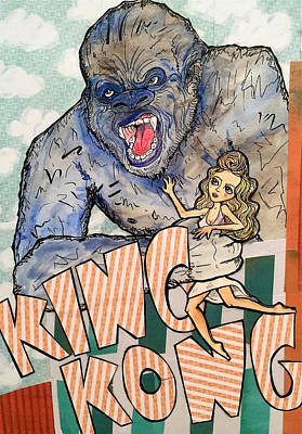 Painting - King Kong by Blair Barbour