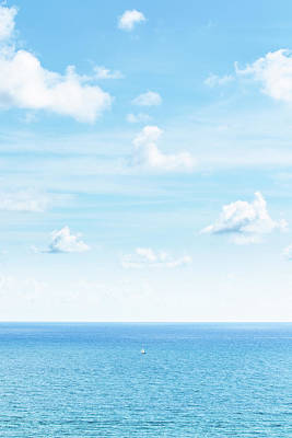 Photograph - Sailing Shades of Blue by Alexis Terrosa