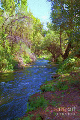 Photograph - Valley River by Roberto Giobbi