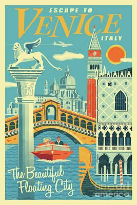 Piazza San Marco Digital Art
