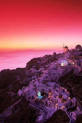Designs Similar to Santorini At Night, Greece