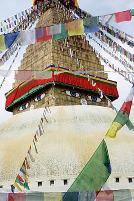 Stupa Wall Art
