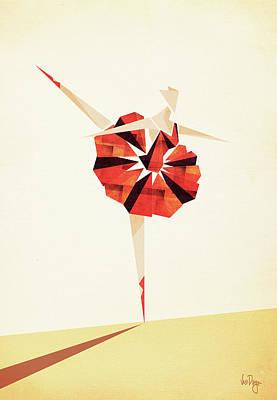 Ballerina Digital Art