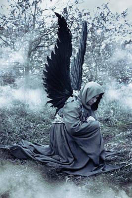 Sad Angel Art Fine Art America