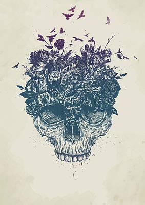Flower Head Wall Art