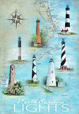 Bald Head Island Paintings