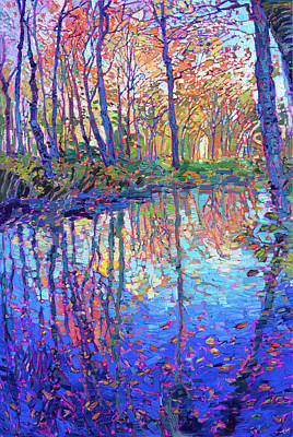 Fall In New England Paintings