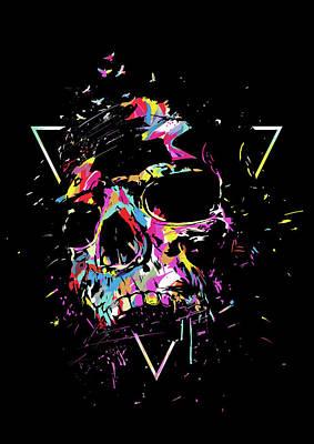 Designs Similar to Skull X by Balazs Solti